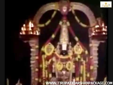 Tirupati Balaji Live Darshan video