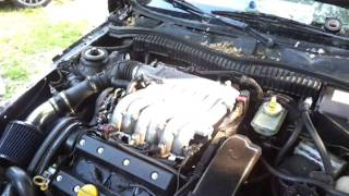 Opel Calibra V6 engine sound