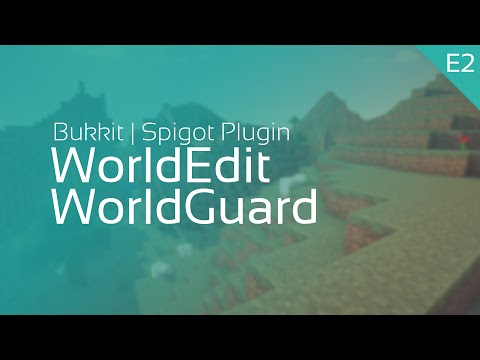 Minecraft Bukkit WorldGuard/WorldEdit Tutorial #2| Flags - Einstellungen und der