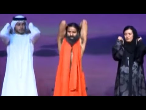 Baba Ramdev Performs Yoga with Sheikhs in Dubai | Mega Yog Shivir
