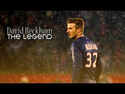 David Beckham Last Match Of Career