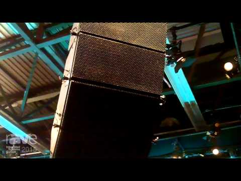 ISE 2015: Alcons Audio Exhibits LR7 Line Array with 6.5-inch Vented Woofer