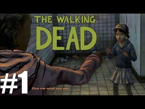 "The Walking Dead: Season 2 - Episode 1 ""INTRO"" Gameplay WalkThrough"