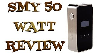 SMY 50 Watt Box Mod Review - Temperature Control