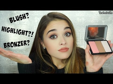 How to Apply Bronzer. Blush. & Highlight   MAKEUP FOR EVER ARTIST FACE COLORS