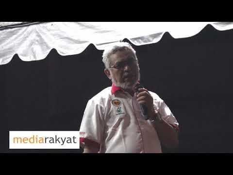 Khalid Samad: Selamanya UMNO Tipu Orang Melayu, Tipu Orang Islam, Rompak Duit Tabung Haji