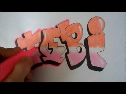 Граффити урок №3(Скетч Tobi)