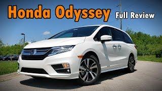 2019 Honda Odyssey: FULL REVIEW | Elite, Touring, EX-L, EX & LX