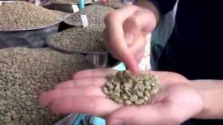 Ethiopian coffee beans at Merkato Market ( Ethiopia)