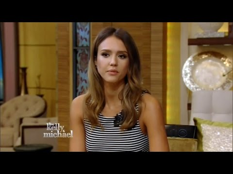 Jessica Alba - Live with Kelly & Michael! (August 13, 2014) - Full HD