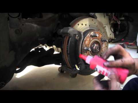 DIY Brake Pad Change Acura RSX