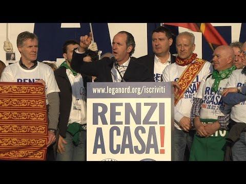 #renziacasa - intervento di Luca Zaia