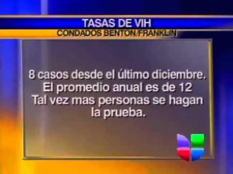 Tasa de VIH en Condados de Franklin y Benton