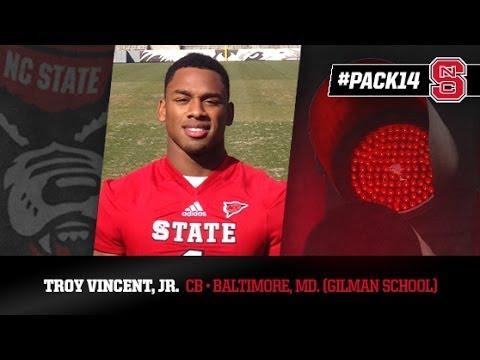 #PACK14: Troy Vincent Jr. - CB - Gilman School (MD)