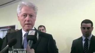 President Bill Clinton Apologizes for Haiti Trade Policies