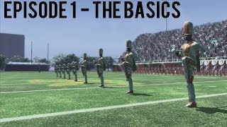 Let's Play: Black College Football Xperience (BCFX) - EP 1 : The Basics - FAMU vs. Johnson C. Smith