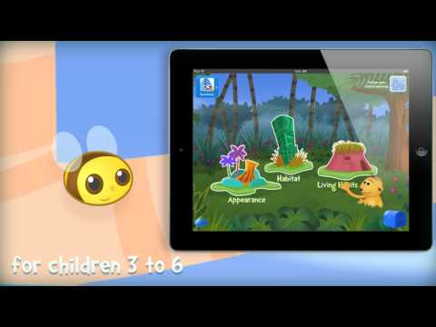 i Learn With the Mighty Jungle: Animals! Fun Learning Games for kids in Preschool and Kindergarten