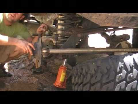 axle shaft removal