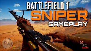 Battlefield 1 Beta: Sniper MVP - Sinai Desert Rush Gameplay