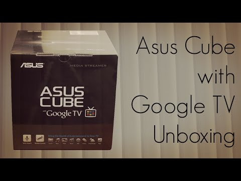 Asus Cube with Google TV Unboxing - Entertainment Device with Smart Remote