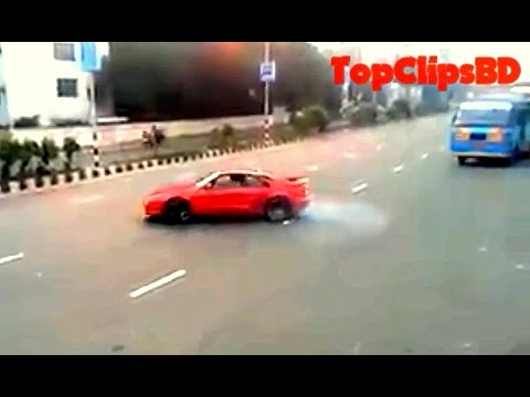 Modified Sports Cars In Bangladesh(BD)-Burnout Compilation
