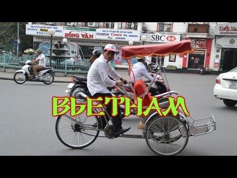 Шок и ужас азиатских дорог. Уличное движение во Вьетнаме.