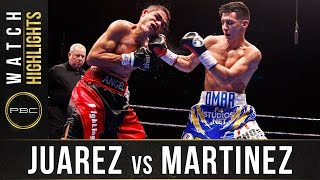 Juarez vs Martinez HIGHLIGHTS: PBC on FS1 - February 1, 2020