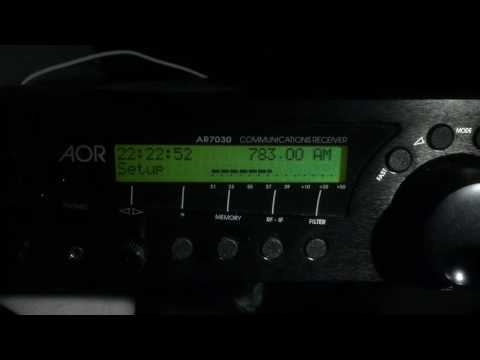 Radio Damascus, Syria, on MW 783 kHz