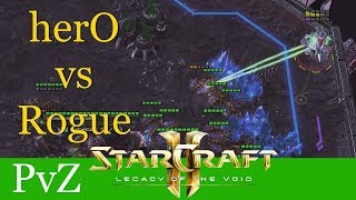 herO vs Rogue (PvZ) - Hangzhou SC Carnival - Starcraft 2: LotV Profi Replays [Deutsch | German]