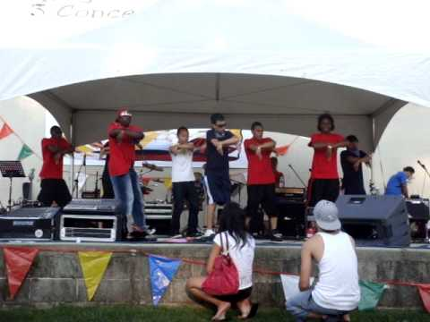 Push Forward Crew @ Filipino Festival, Tony Canale Park -- Aug 1, 2009