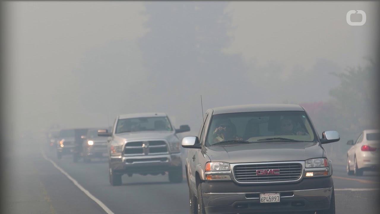 40 dead in California wildfires