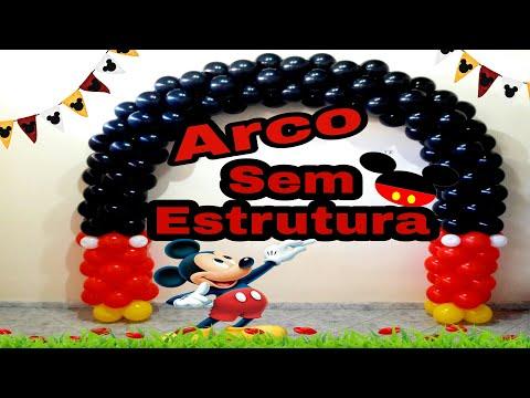 Como Fazer Arco Redondo sem Estrutura /Canal juju oliveira thumbnail