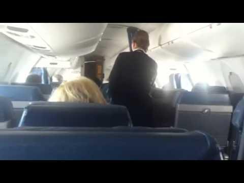 Первое видео с самолета:) [Америка с Айфона]