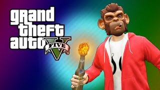 GTA 5 Next Gen: Secret Tunnel! (GTA 5 Online Funny Moments & Skits)