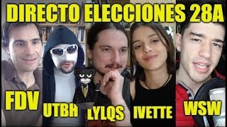 EndGamel Elecciones 28A - Con FDV, UTBH, Invicthor, Ivette y Quetzal
