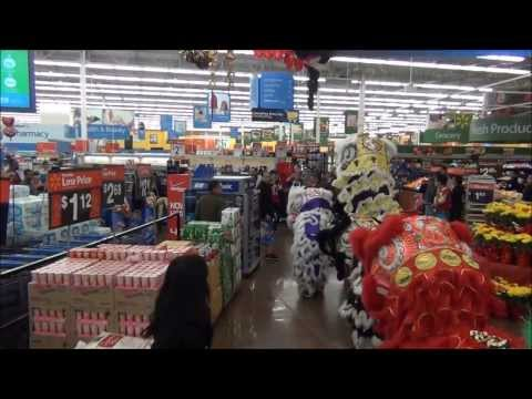 Walmart Lion Dance