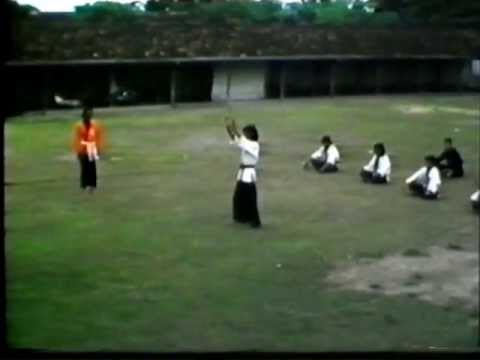 Pencak Silat Indonesia 1975 techniques part6 Image 1