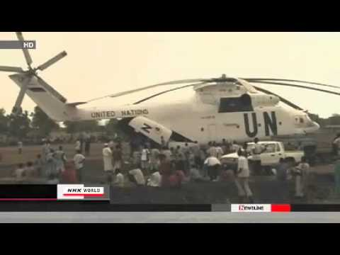 UN Helicopter Shot Down by South Sudan Military 4 Russians Killed