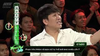 Trương Quốc Bảo bắt bẻ cách Hari Won đọc câu hỏi | HTV NHANH NHƯ CHỚP NNC | 16/6/2018