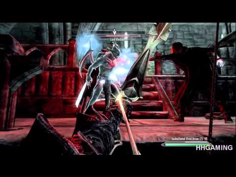 Skyrim Dawnguard - Vampire Ending & Final boss HD walkthrough Part 26 + sun block ability
