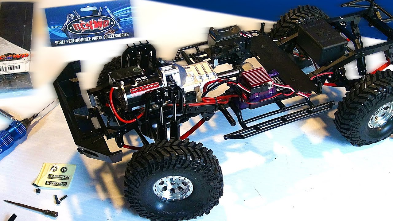 RC ADVENTURES - RC4WD Trail Finder 2 - Toyota Hilux Scale ...