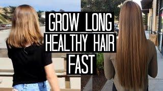Grow Long, Healthy Hair Fast!