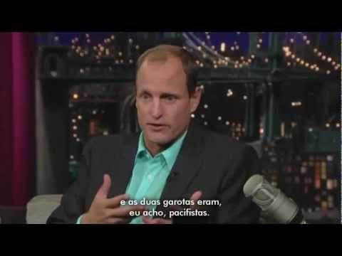 Woody Harrelson no Late Show, 2009 [LEGENDADO]