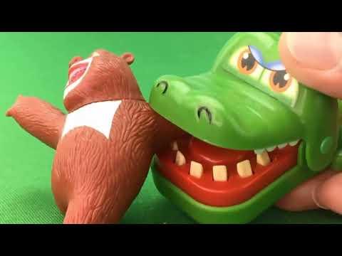 Dangerous crocodile toys bear toy kids toys Play Kids Playtime