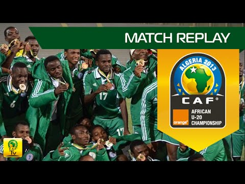 Nigeria - Mali  | Orange African U-20 Championship, ALGERIA 2013 | 3rd place Final