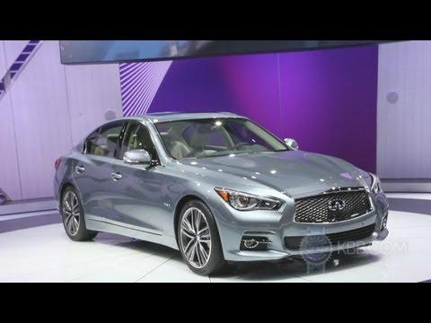2014 Infiniti Q50 - 2013 Detroit Auto Show