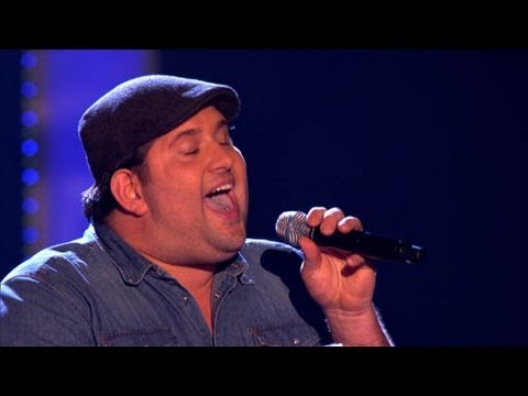 The Voice UK 2013 | Jamie Bruce performs 'Try A Little Tenderness' - Blind Auditions 5 - BBC One