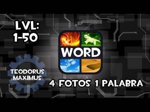 soluciones 4 fotos y 1 palabra respuestas 1 - 50 fácil y rápido 2013