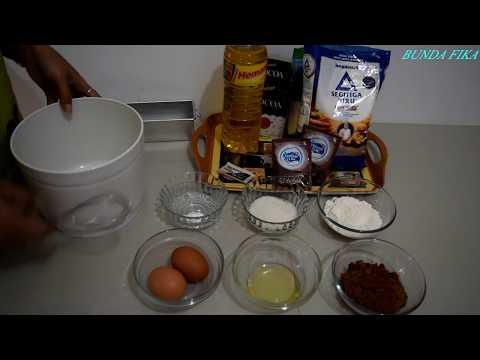 Cara Membuat Brownies Coklat Bahan Sederhana