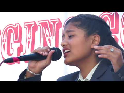Marne Kasailai by Samikshya Basnet, Singing Competition 2074 Global College of Management